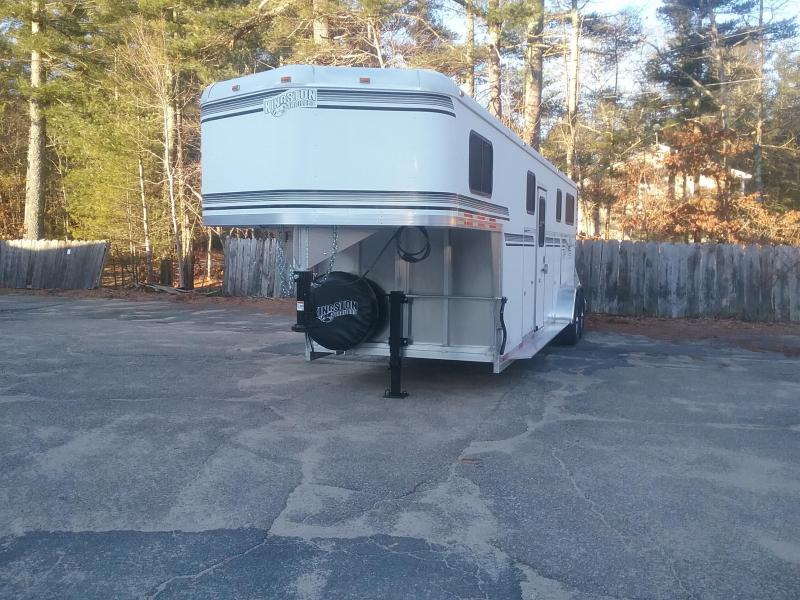 2019 Kingston Trailers Inc. GooseNeck 2&1 Horse Trailer