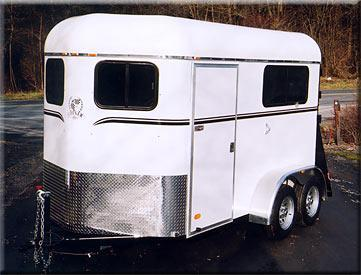 2019 Cotner Trailers Inc. Ultra Horse Trailer