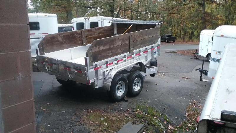 2019 CargoPro Trailers 7x12 Dump Trailer