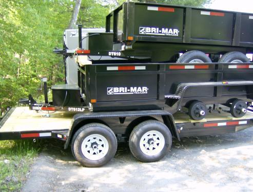 2018   Bri-Mar EH16-10LE Equipment Trailers