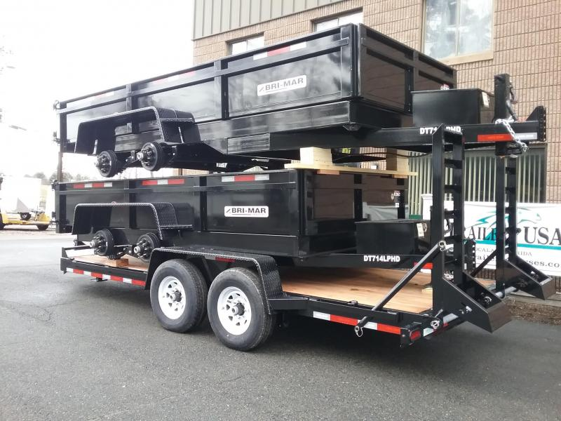 2019 Bri-Mar DT716 LPHD Dump Trailer in Ashburn, VA