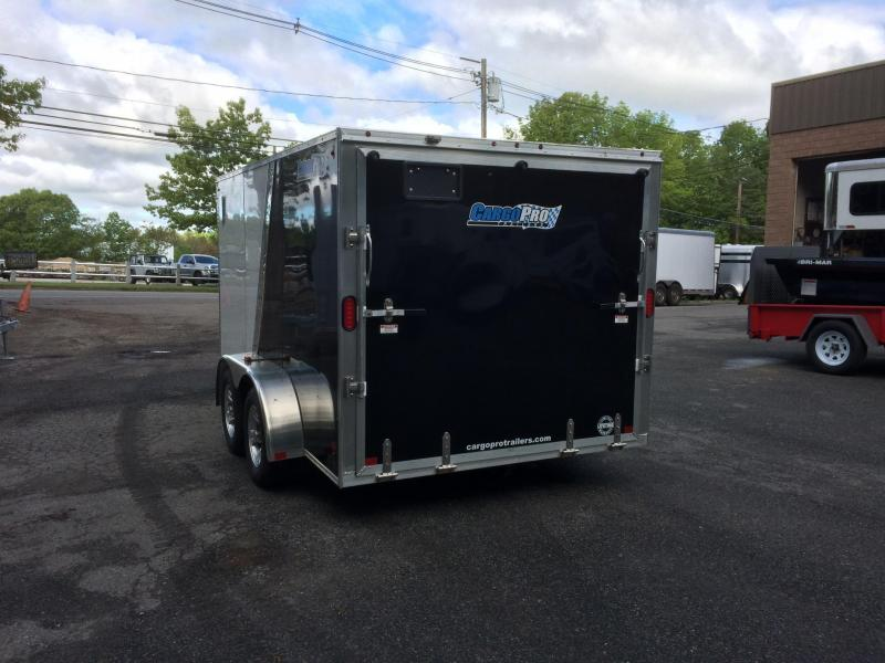 2017 CargoPro Trailers -- Motorcycle Trailer