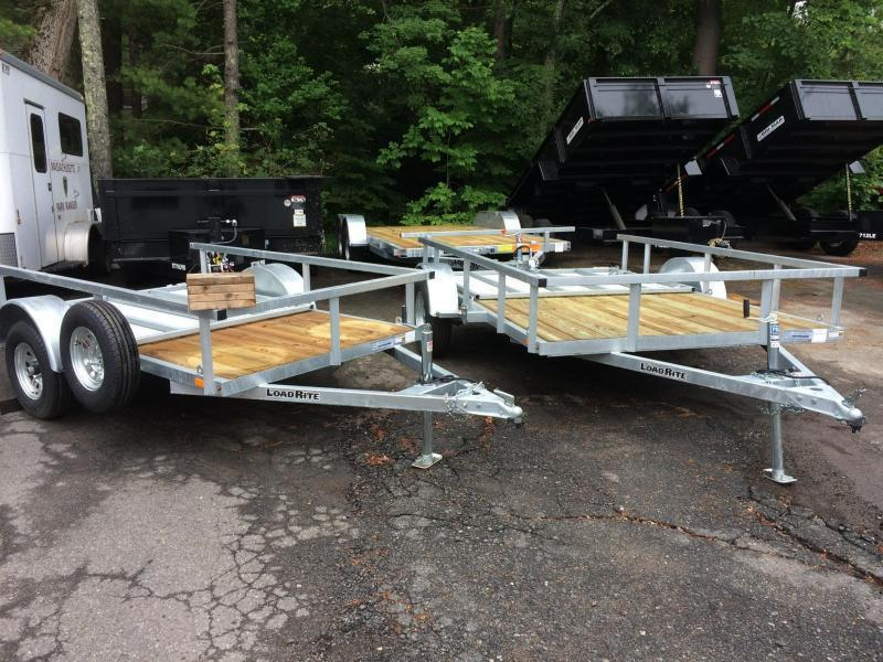 2019 Load Rite Utility With Guard Rail Utility Trailer in Ashburn, VA