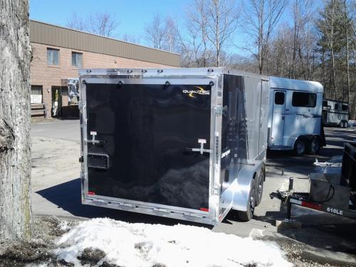 2016 Stealth Trailers Qualitec 7 x 14 Motorcycle Trailer