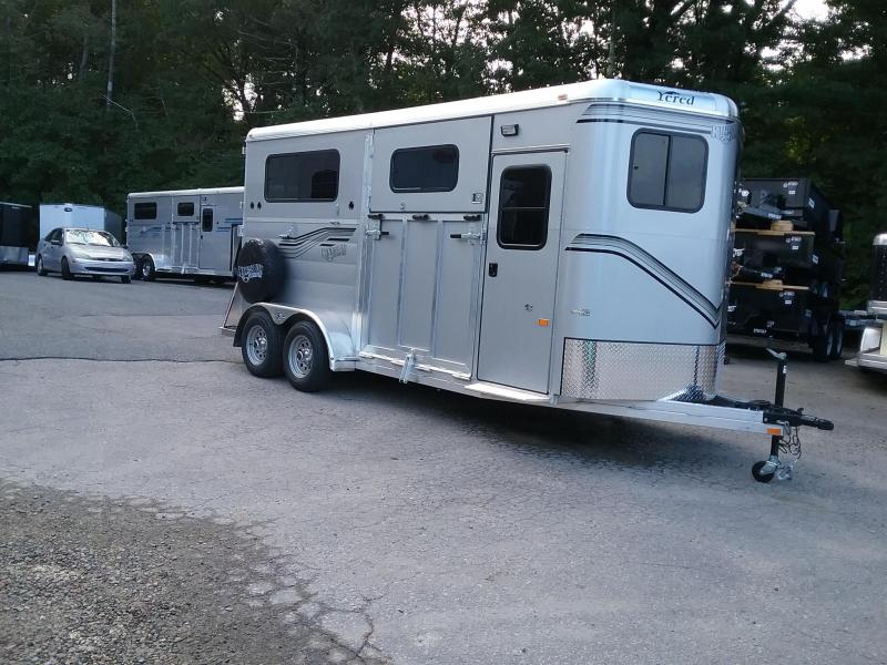 2019 Kingston Trailers Inc. Newport D/R Horse Trailer