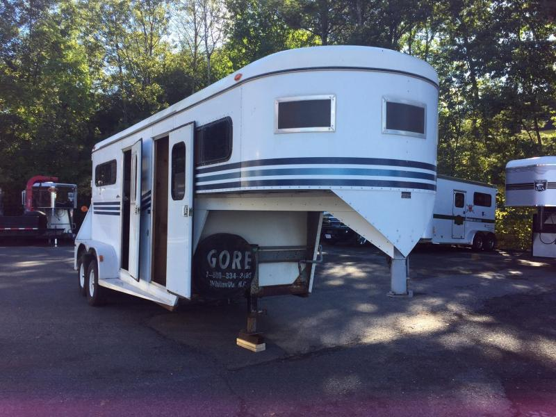 1994 Gore Trailers 2H Warmblood GN Horse Trailer