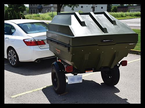 2018 Tetra-pod On Road Trailer/Boat