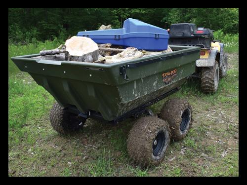 2018 Tetra-pod On Road Trailer/Boat