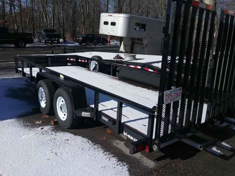 2016 Bri-Mar Equipt/Landscape Equipment Trailer in Plainfield, NH