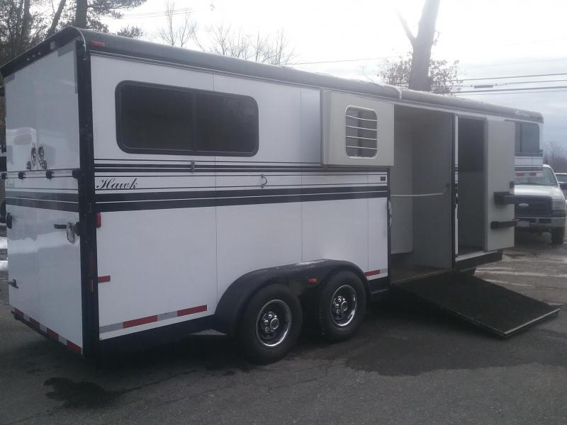 2010 Hawk Trailers 2&1 Goosneck Horse Trailer