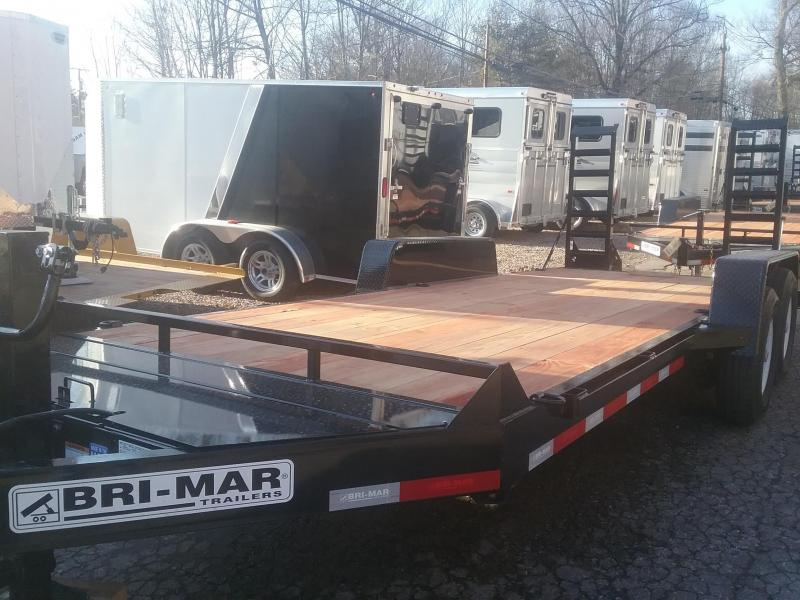 2019 Bri-Mar EH18-14 Equipment Trailer in Greenville, NH