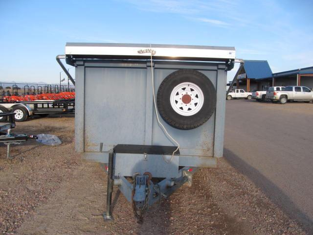 "2005 Baker Built 12'X80"" Dump Trailer"