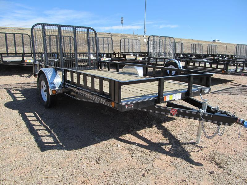 "2018 PJ Trailers 14'x77"" Single Axle Channel Utility Trailer"