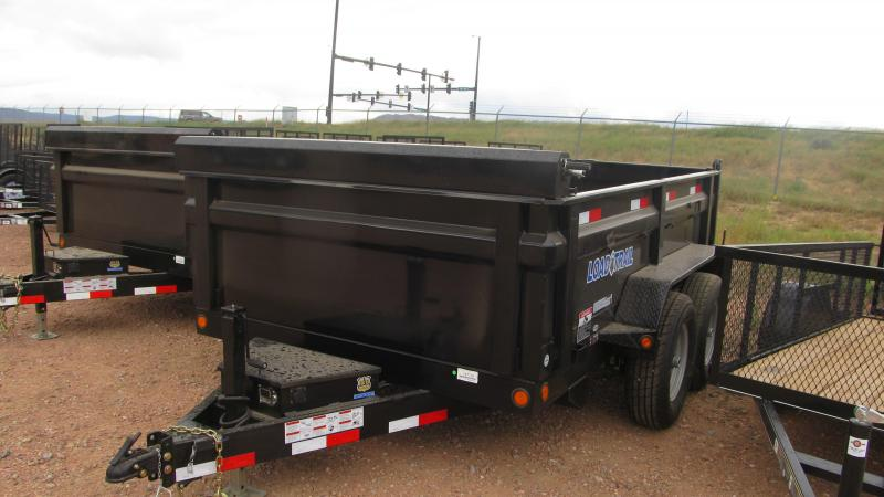 2018 load trail 10 u0026 39 x83 u0026quot  dump trailer