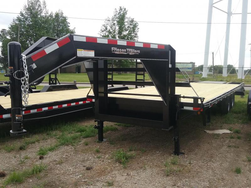 2019 Friesen Trailers GND1410225 Flatbed Trailer in Ashburn, VA