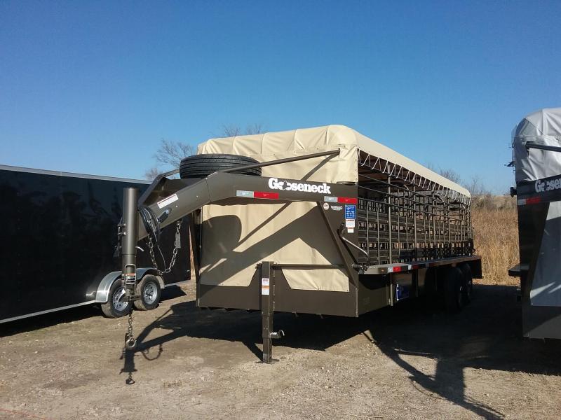 2019 Gooseneck SCT-24-68(2)7K Livestock Trailer