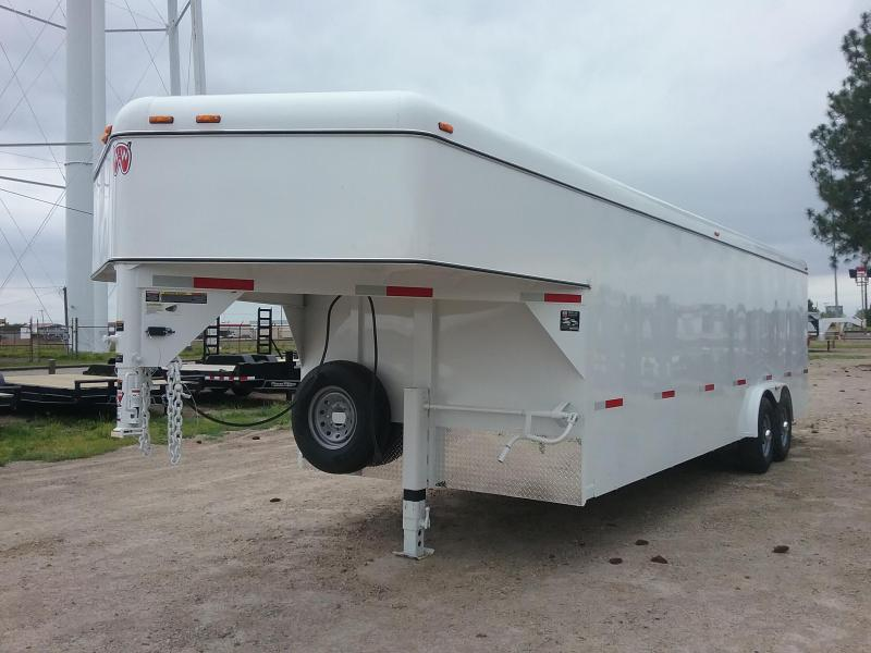 2019 W-W Trailer WW-CC24x8 Enclosed Cargo Trailer