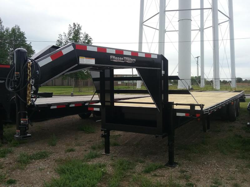 2019 Friesen Trailers GND2410232 Flatbed Trailer in Ashburn, VA