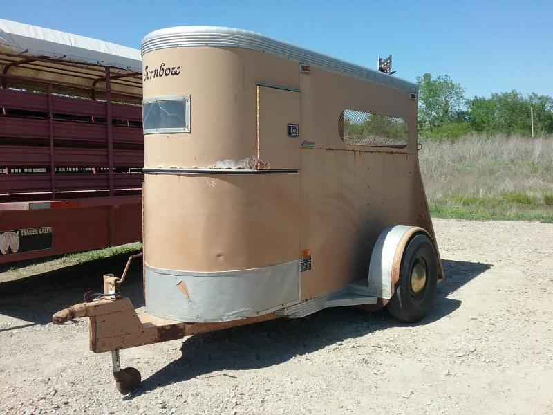 1990 Turnbow Trailers SAHORSE Livestock Trailer