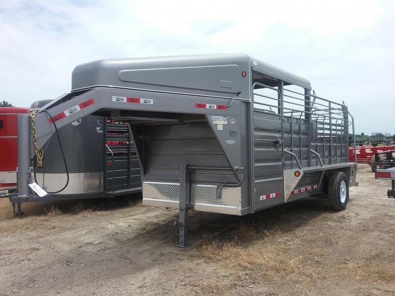 2018 GR Trailers STH6016W07LNHR1A Livestock Trailer