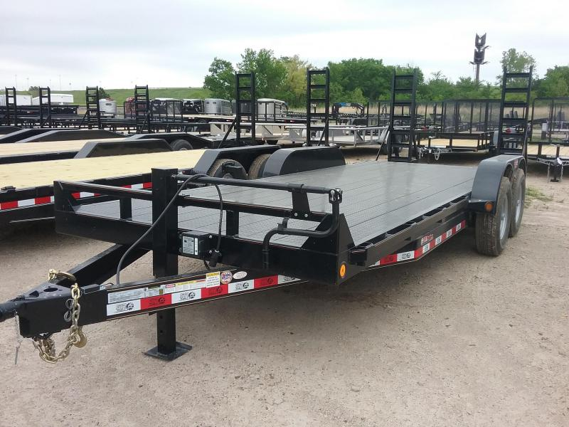 2019 GR Trailers CH7020DSFR14LBT Flatbed Trailer in Ashburn, VA
