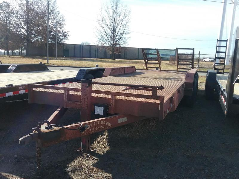 2004 83x24 Used Equipment Trailer