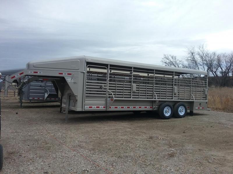 2019 GR Trailers STH6824W14LNR Livestock Trailer