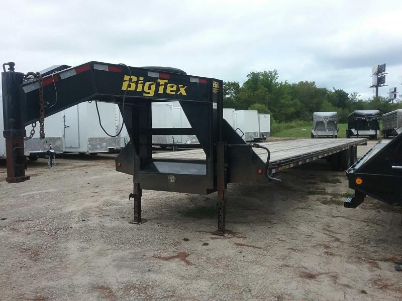 2012 Big Tex Trailers 22GN-40BK Flatbed Trailer