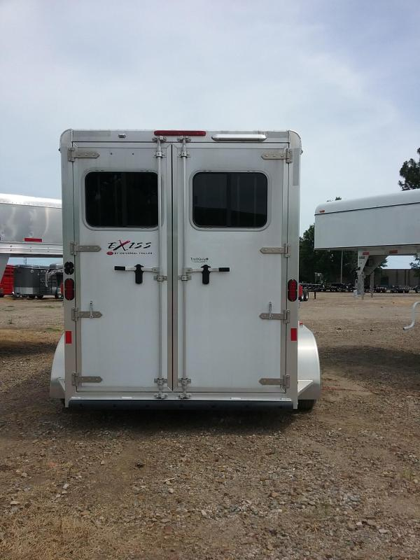 2015 Exiss Trailers Exiss Express Ss Horse Trailer Over
