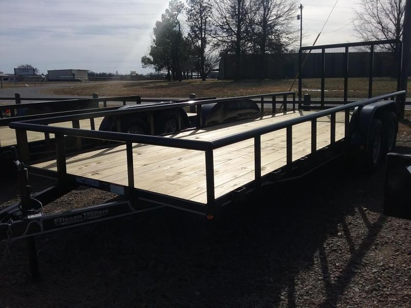 2019 Friesen Trailers UT78320 Utility Trailer in OK
