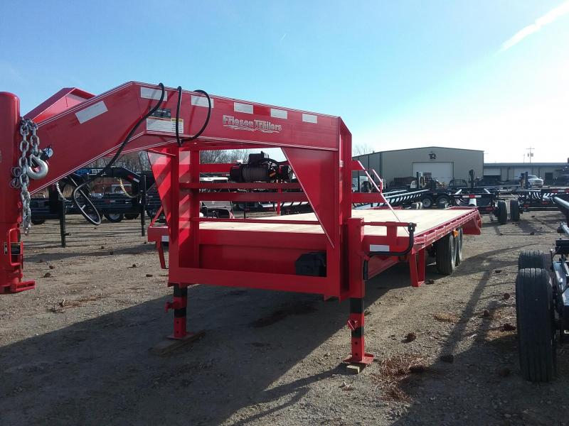 2018 Friesen Trailers GN1410225 Flatbed Trailer