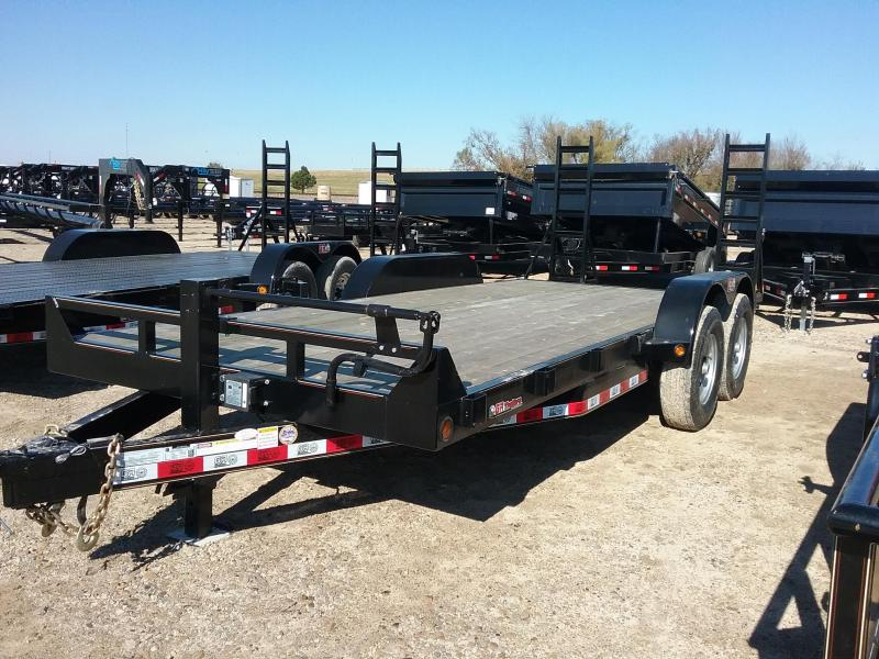 2018 GR Trailers CH7018WFR14LBT Flatbed Trailer in Ashburn, VA