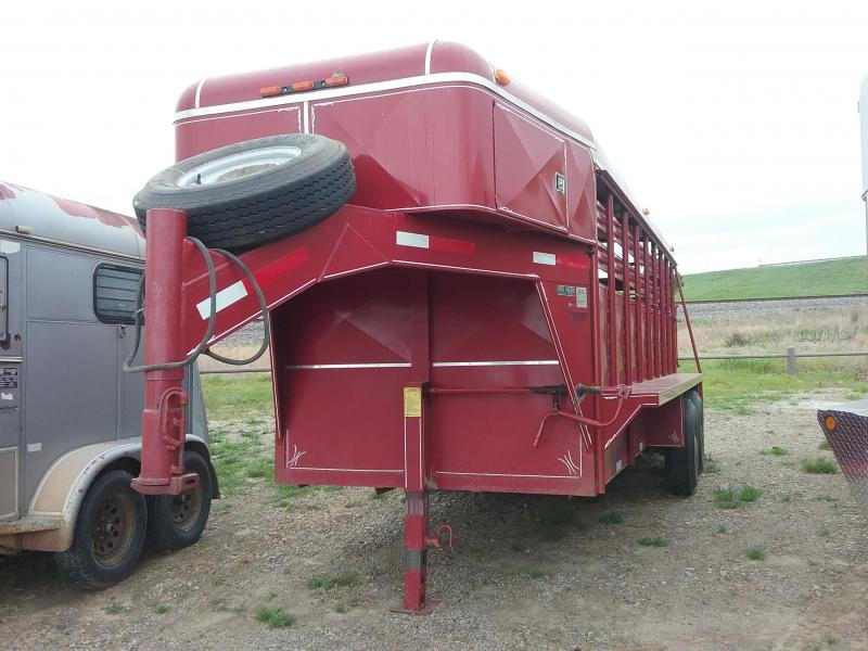 1994 Coose Used Livestock Trailer in Ashburn, VA
