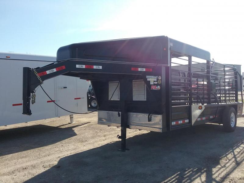 2016 GR Trailers 6'8x16 Used Single Axle Livestock Trailer in Ashburn, VA