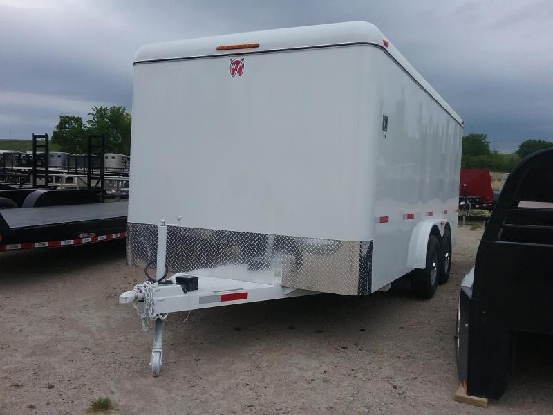 2019 W-W Trailer WW-CC16x8 Enclosed Cargo Trailer