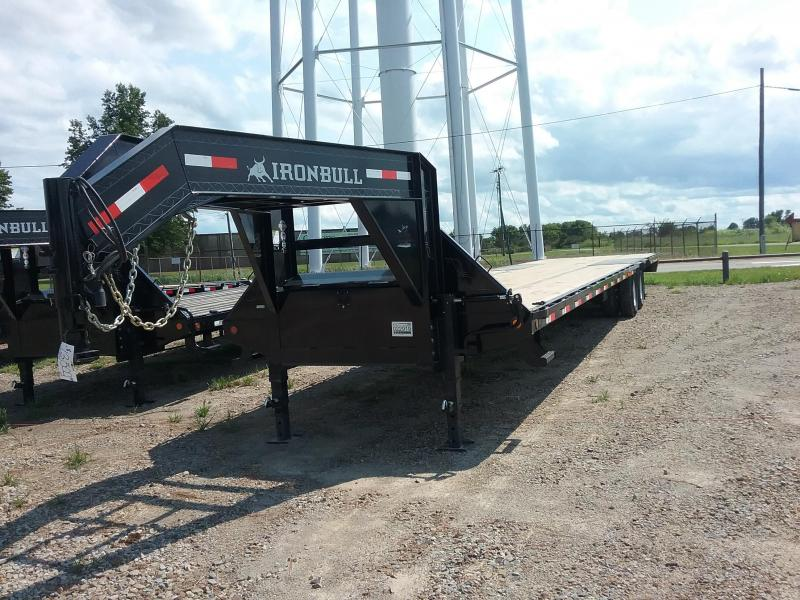 2018 Iron Bull FLG0240122 Flatbed Trailer