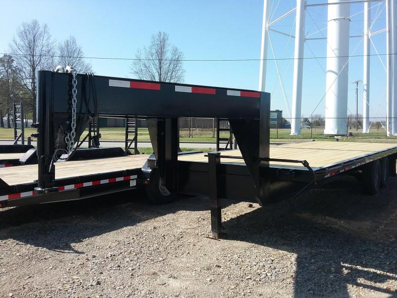 2018 24'  TrailQuip Gooseneck Flatbed Trailer