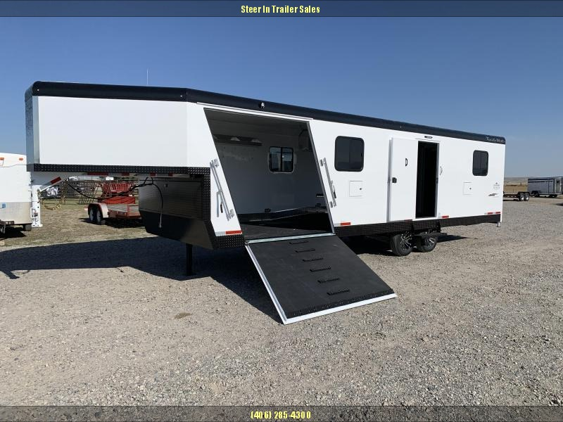 2020 Trails West RPM GN 28FT Snowmobile Trailer