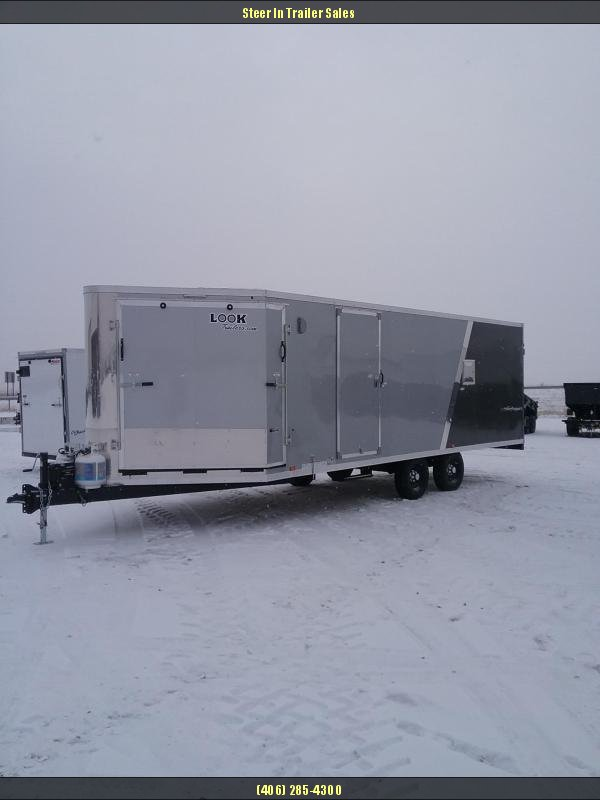 2019 Look Trailers 27' PURESPORT Snowmobile Trailer