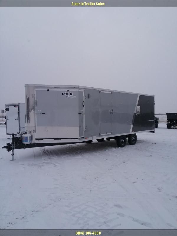 2019 Look Trailers 27' PURESPORT Snowmobile Trailer