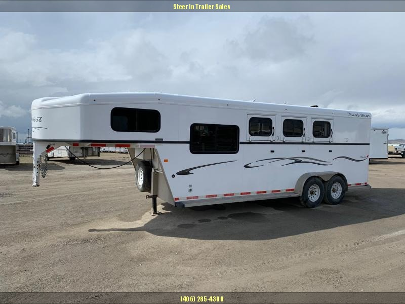 2014 Trails West  3H CLASSIC GN Horse Trailer in Ashburn, VA