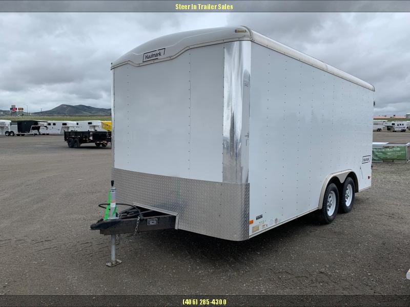 2008 Haulmark 8X16 Enclosed Cargo Trailer