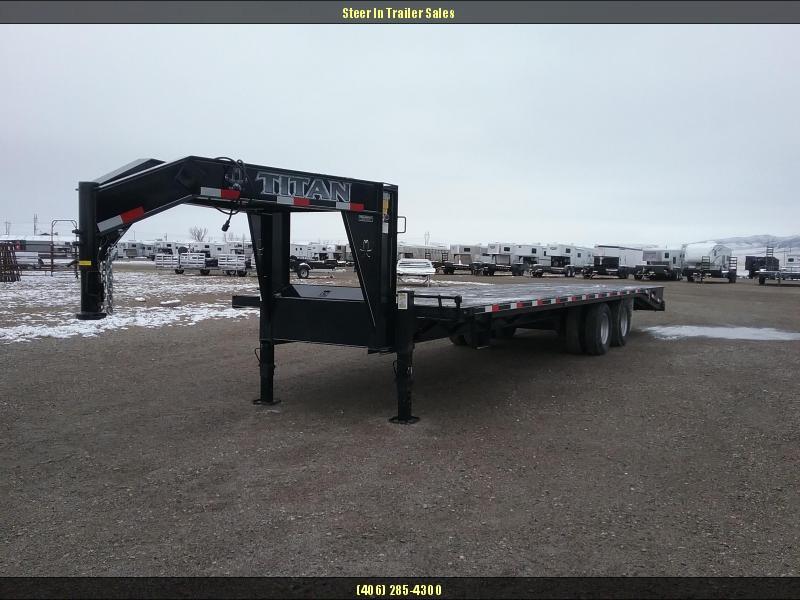 2014 Titan Trailers 30 RUFFNECK Flatbed Trailer in Holy Cross, AK