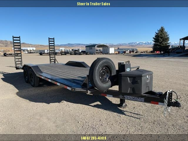 2019 Titan 22' Equipment Trailer
