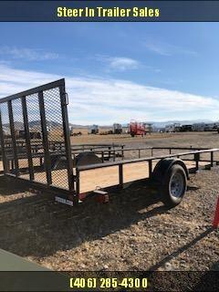 """2019 Big Tex 35ES 77""""X12' Utility Trailer"""