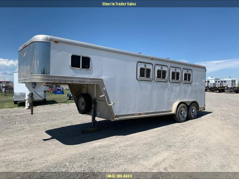 1990 Featherlite 4H GN Horse Trailer