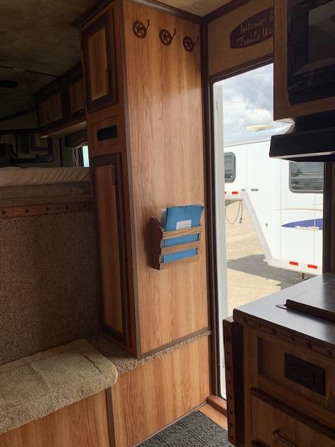 2012 Trails West 3H LQ Horse Trailer