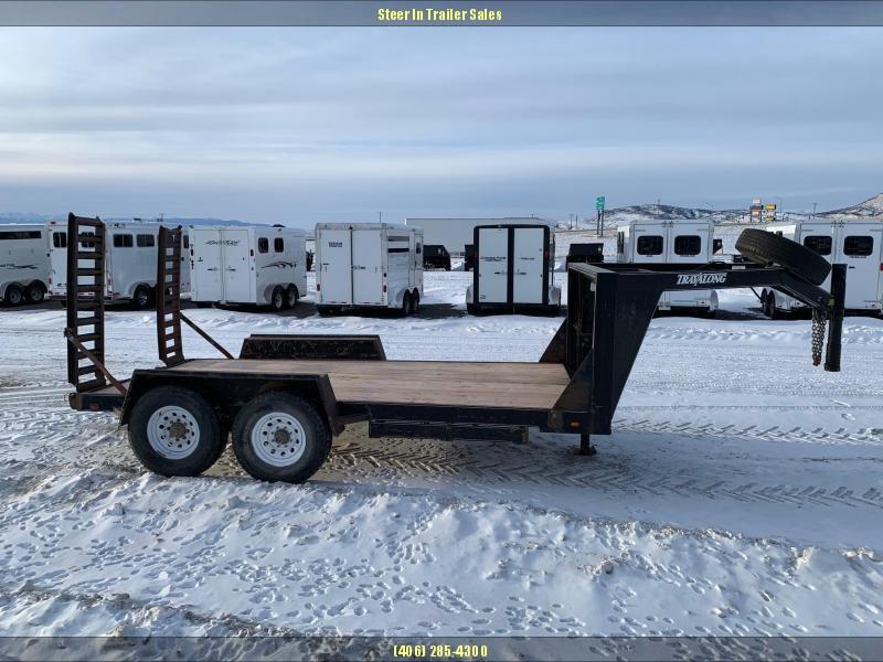 2001 Travalong 14' Equipment Trailer