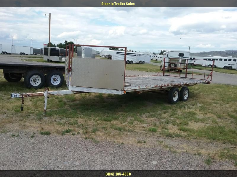 1990 20' Utility Snowmobile trailer