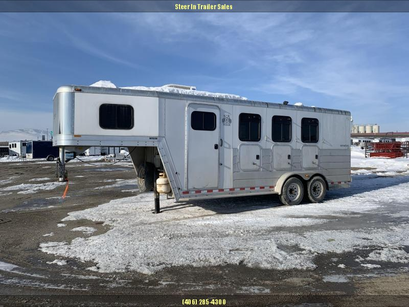 2003 Kiefer Built GENESIS Horse Trailer